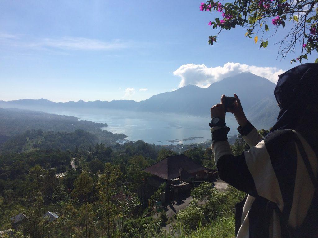 batur lake traveling bali