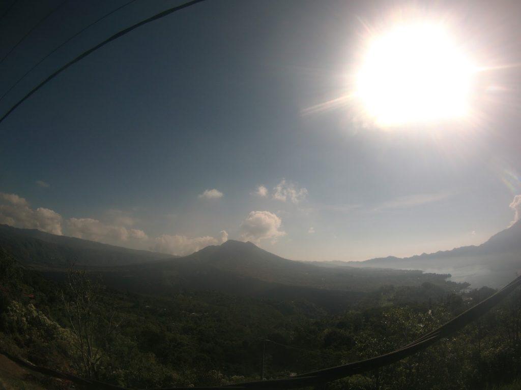 batur mountain traveling bali