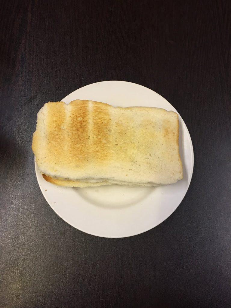 sarapan roti bakar di singapore
