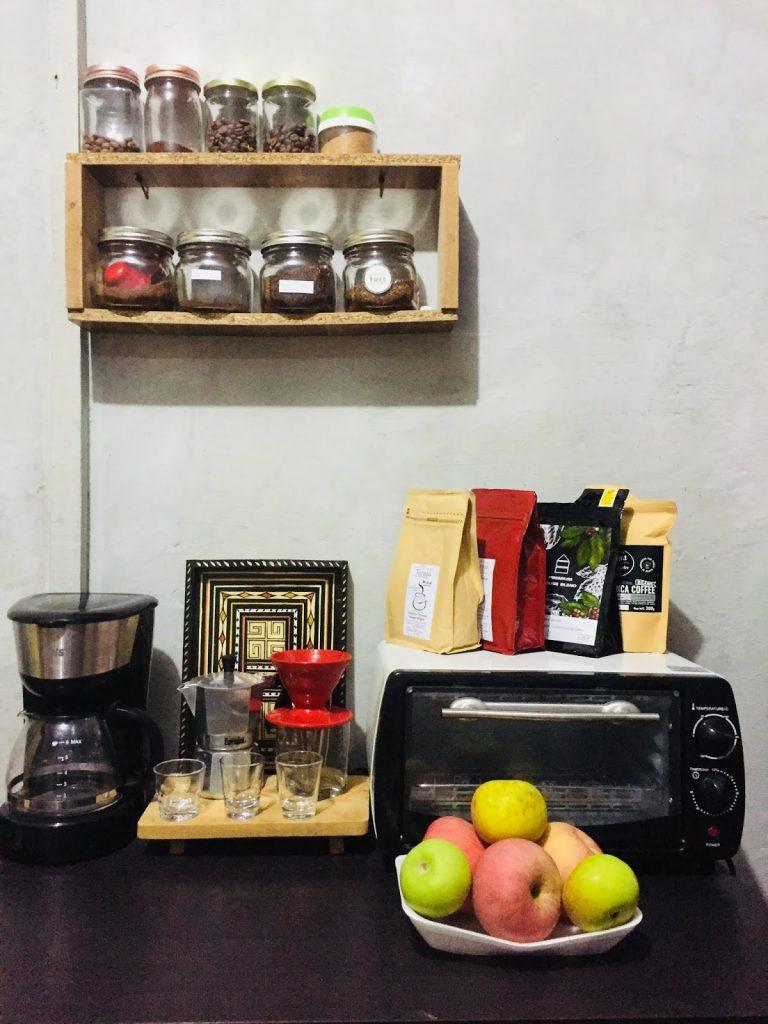 mini coffee bar