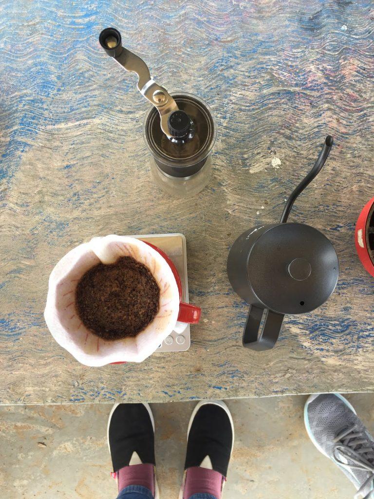 brewing kopi toraja sapan