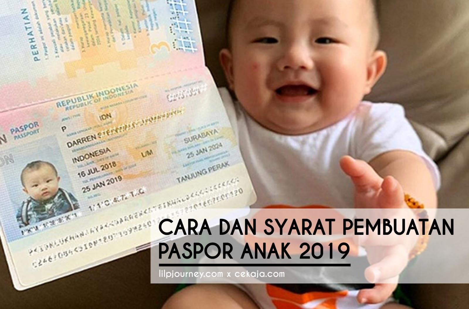 passport anak