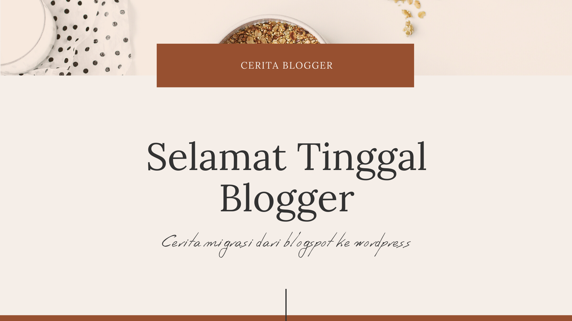 migrasi blogspot ke wordpress