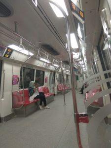 cara naik MRT Singapore