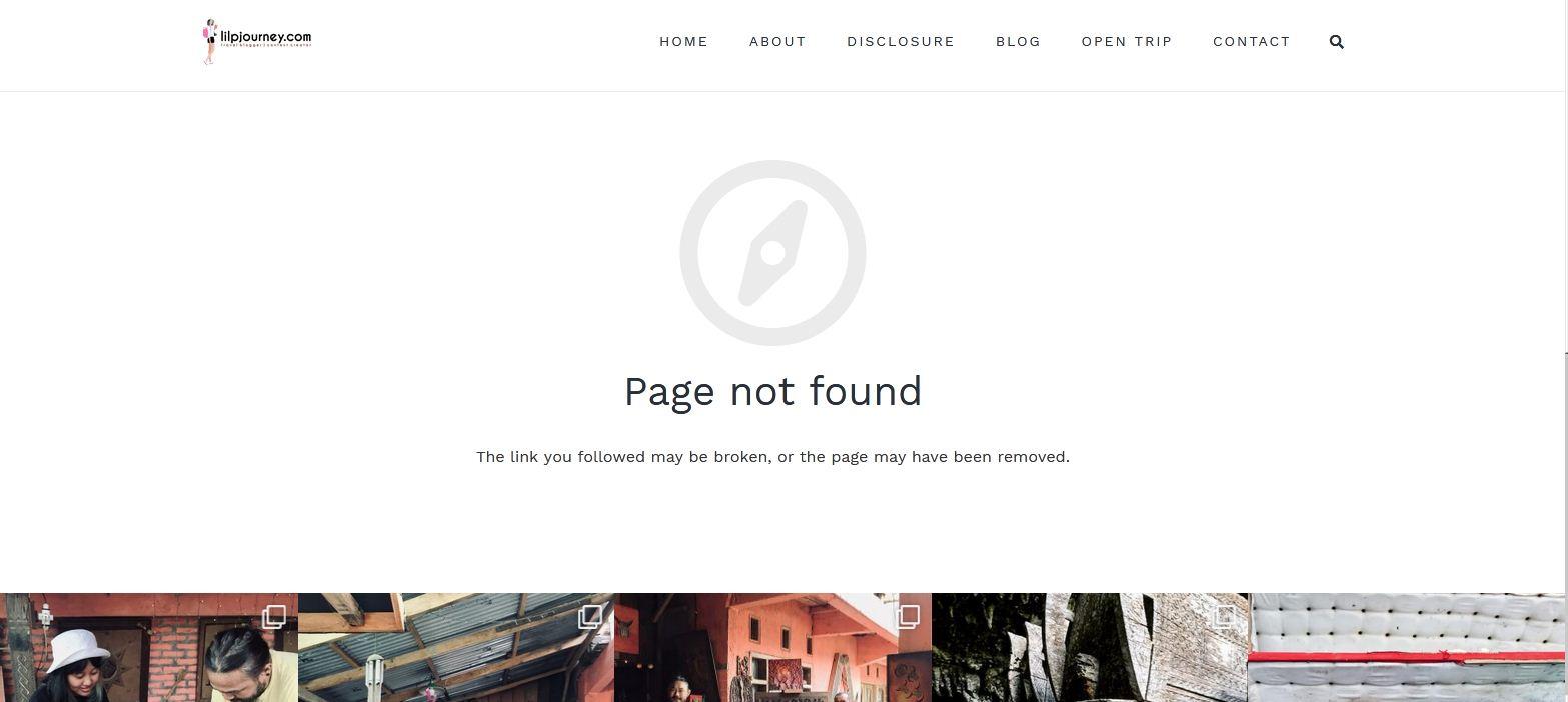 postingan blog terhapus