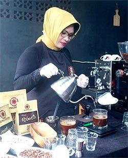 mentor pelatihan barista dan usaha warung kopi