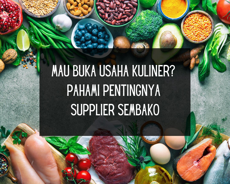 Supplier sembako