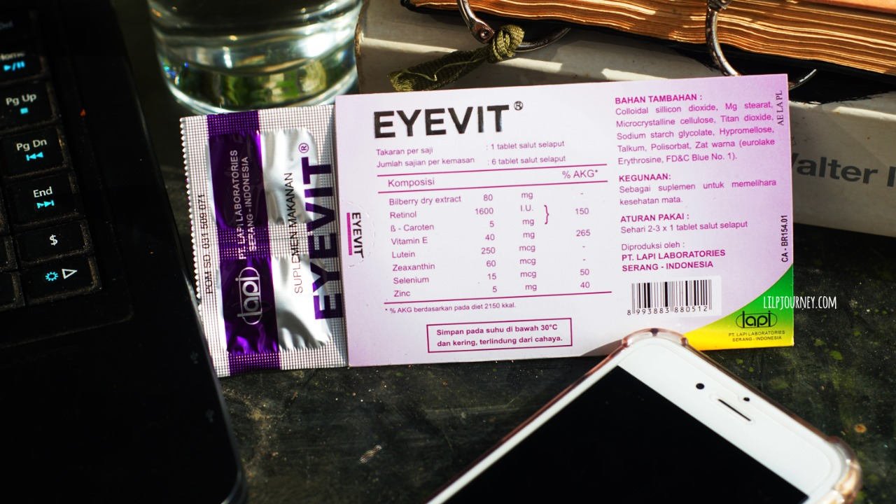 kandungan vitamin mata Eyevit