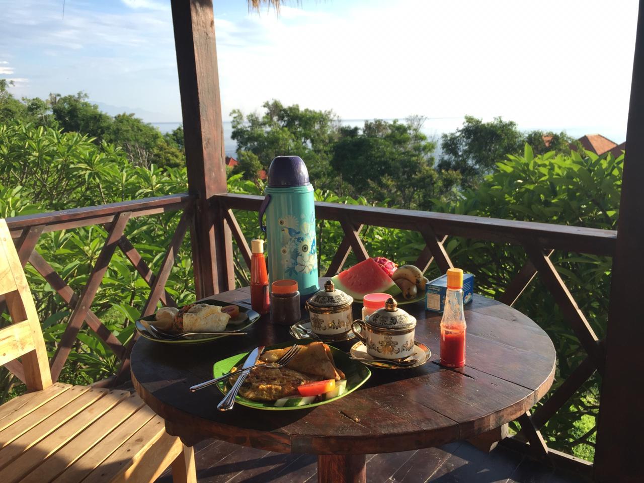 menu sarapan the somayan bungalows