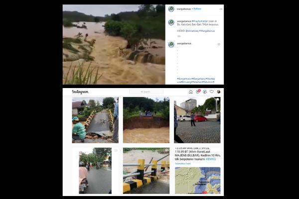 #prayforkalsel musibah banjir Kalimantan Selatan