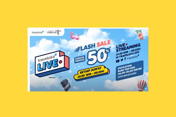 flash sale dari traveloka