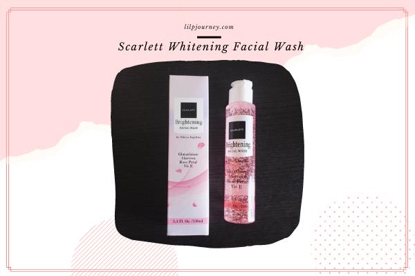 review Scarlett Whitening Facial Wash