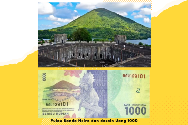 pulau banda neira di uang 1000