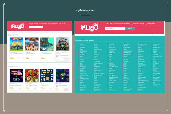 kategori game di plays.org