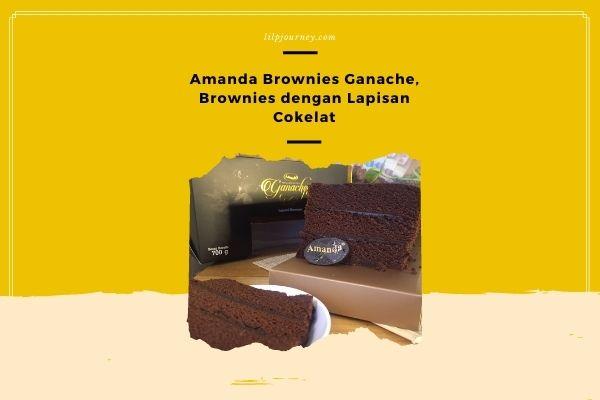 Amanda Brownies Ganache