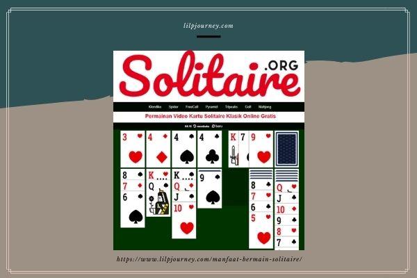bermain kartu di solitaire.org