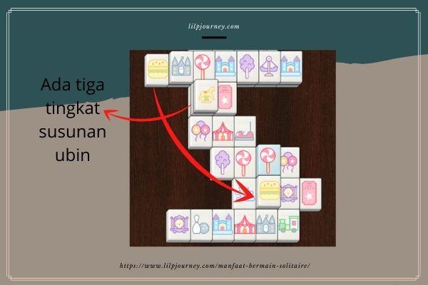 susunan ubin mahjong